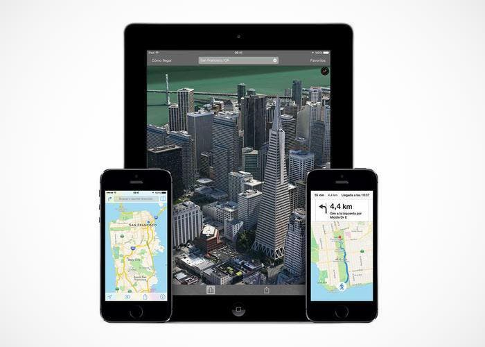 Apple Maps en iPad y iPhone
