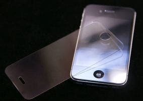 Cristal de zafiro y iPhone