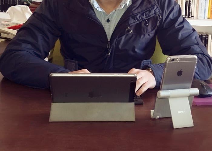 Aumento de productividad al usar iPhone y iPad