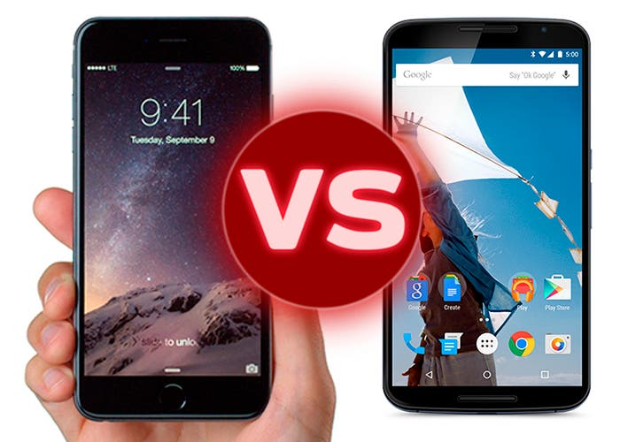 iPhone 6 Plus vs Google Nexus 6