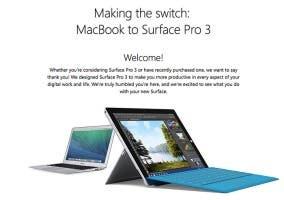 Microsoft apunta contra el MacBook Air