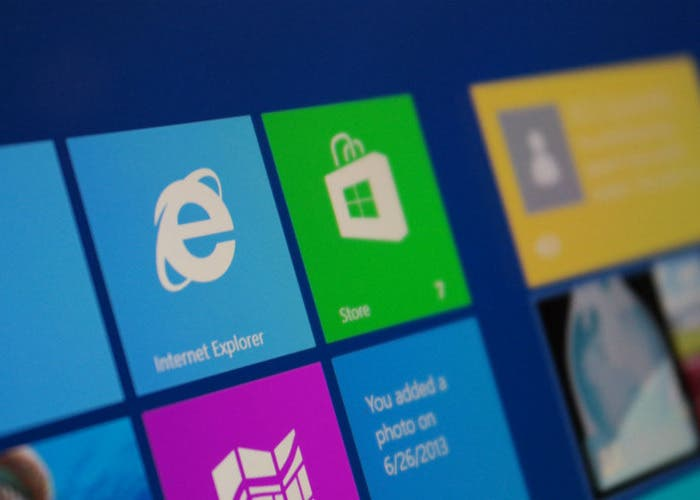 Internet Explorer en Windows 8