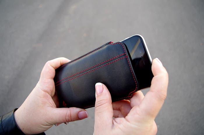Nueve con iPhone