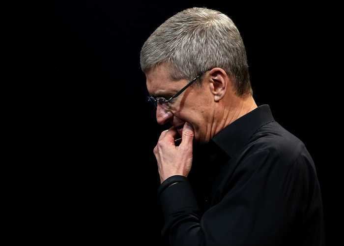 Tim Cook en una Keynote