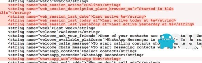 WhatsApp Web en un APK de Android