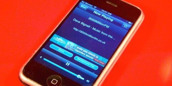 Radio Lite en iPhone original