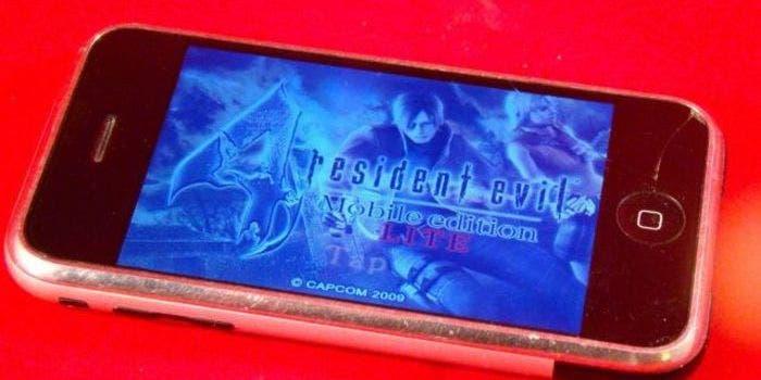 Resident Evil 4 Lite en iPhone original
