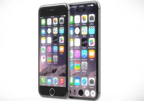 iPhone 6 junto a un concepto del próximo iPhone de Apple