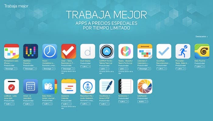 Trabaja mejor App Store