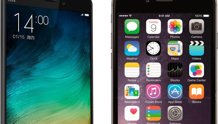Dura competencia entre Apple y Xiaomi en el mercado de los phablets