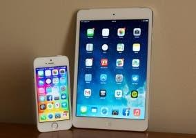 iPhone y iPad con iOS 8