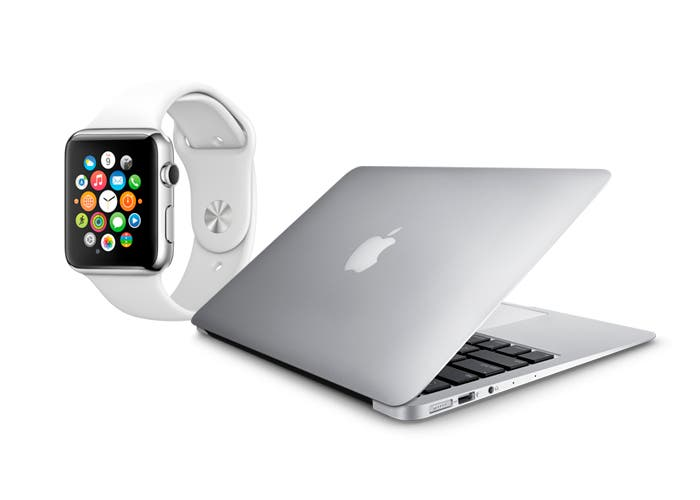 Apple Watch y MacBook