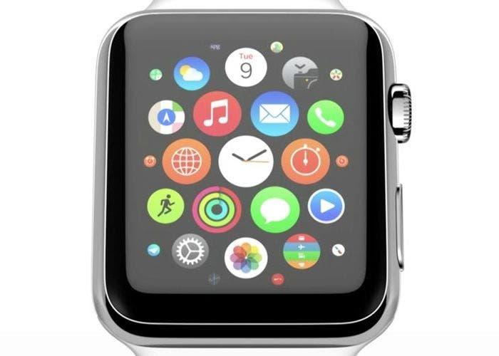 Pantalla del Apple Watch