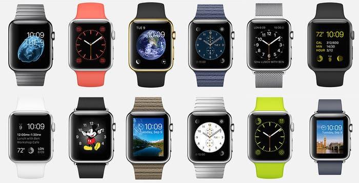 Modelos de Apple Watch
