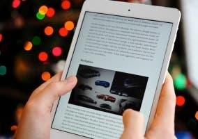 Leer en un iPad mini 2