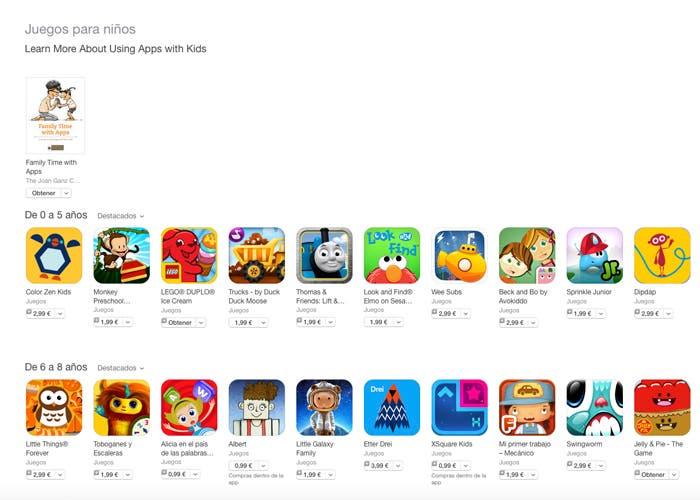 Apple Estrena Una Nueva Seccion De Juegos Para Ninos