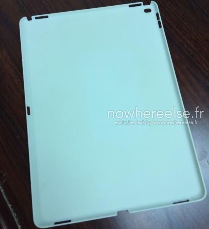 Carcasa del iPad Pro filtrada