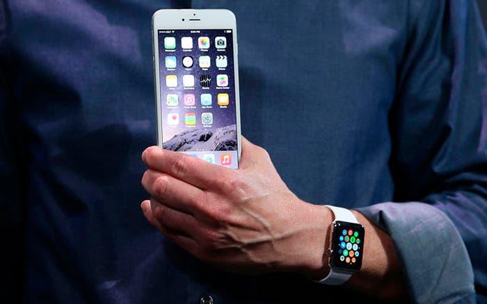 Apple Watch y iPhone 6