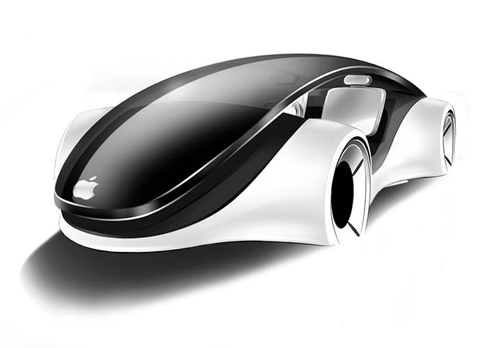 Concepto del futuro Apple Car
