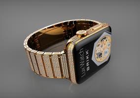 Apple Watch de oro y diamantes