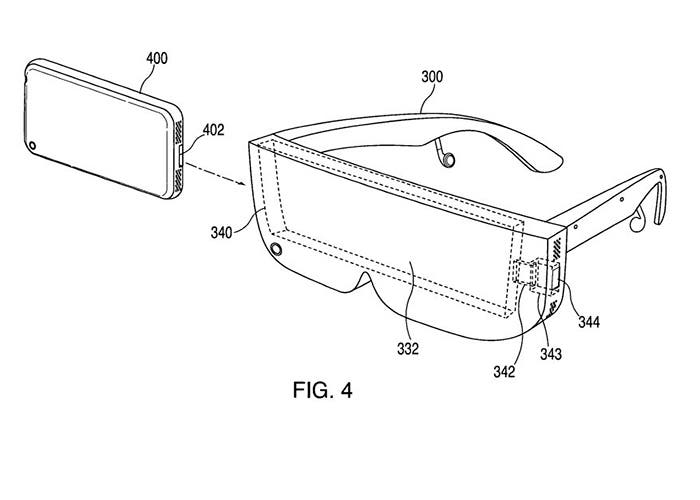 Patente de Apple sobre realidad virtual