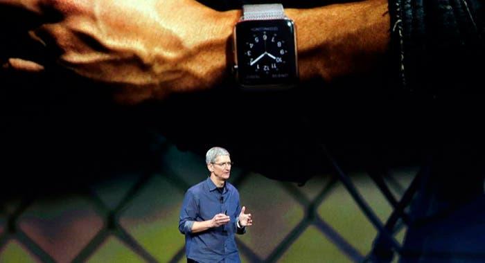 Tim Cook y el Apple Watch