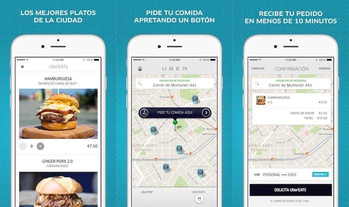 UberEATS iPhone