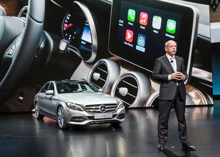 The CEO of Mercedes is not worried about the Apple car