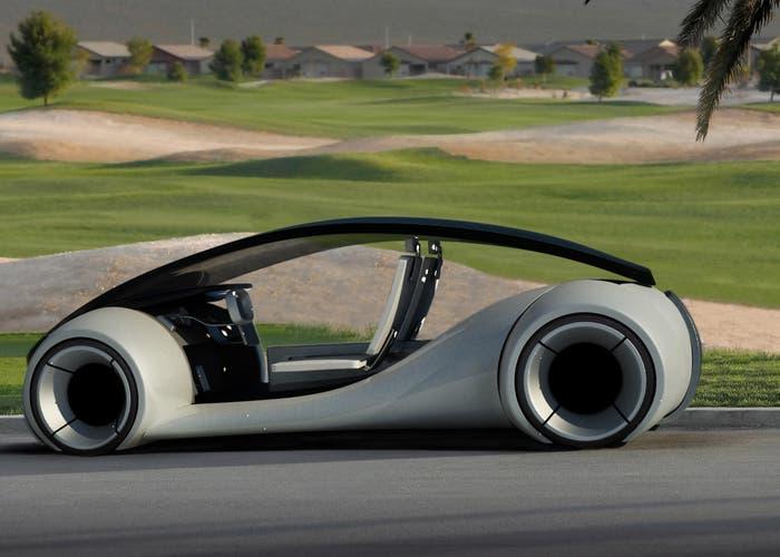 Posible concepto del coche elétrico de Apple