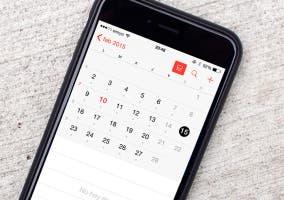 Calendario en iOS