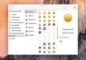 Los emojis se ampliarán en OS X 10.10.3