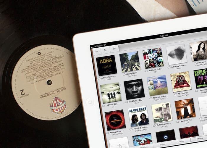 iTunes Match en iPad