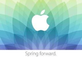 Tarjeta de invitación del evento del Apple Watch