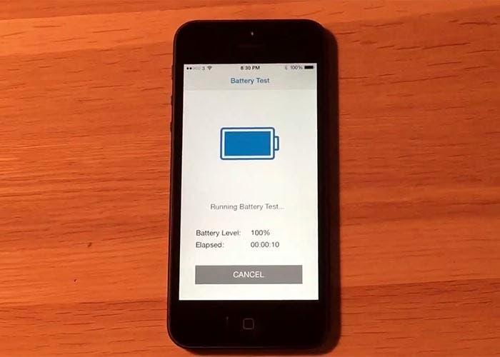 Test de autonomía en iOS 8