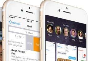 iOS 8 en iPhone 6