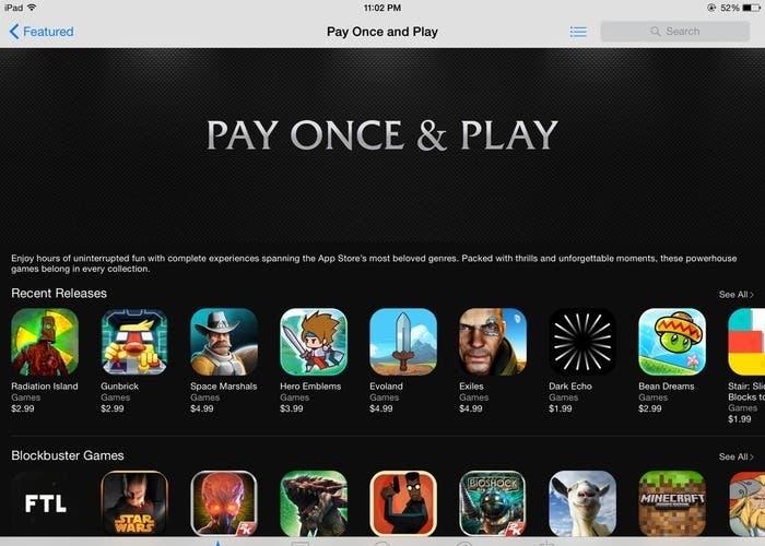 Nueva sección en la App Store
