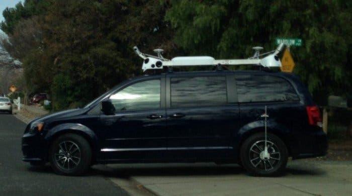 Posible vehículo de trazado de mapas de Apple