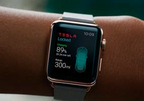 Tesla App para el Apple Watch