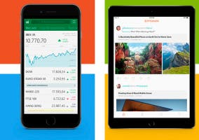 MSN Dinero y Prismatic en iPhone 6 y iPad Air 2
