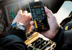 Reloj Breitling B55 y aplicación para iOS