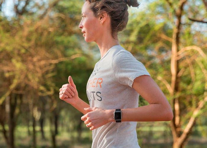 Christy Turlington con el Apple Watch