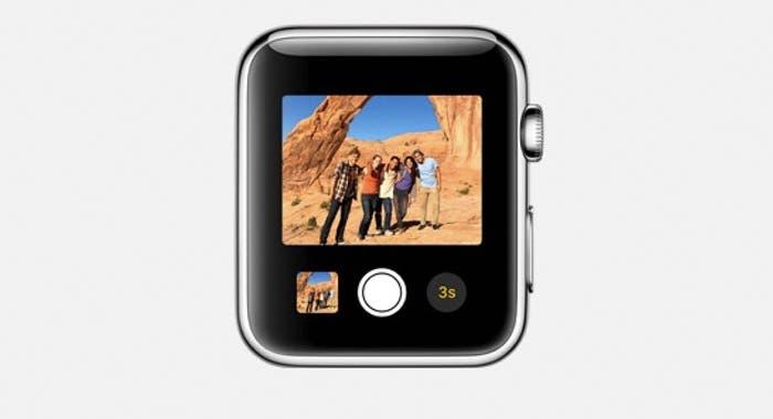 Aplicación Cámara en Apple Watch