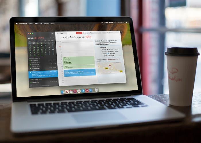 Fantastical 2 para Mac en MacBook