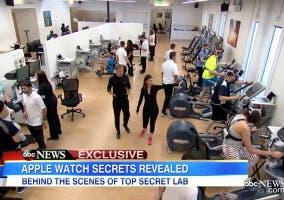 ABC en el laboratorio de pruebas del Apple Watch