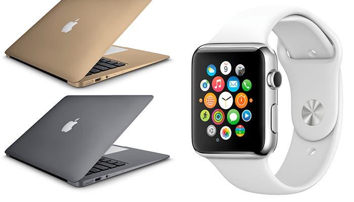 Nuevos MacBook y Apple Watch