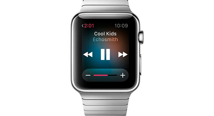 Reproductor de música en el Apple Watch