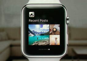 Aplicación de Instagram en el Apple Watch
