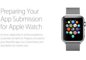 Apple ya acepta aplicaciones del Apple Watch