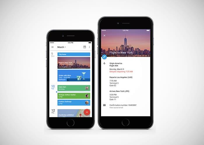 Google Calendar con Material Design
