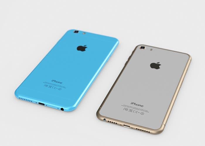 Conceptos del iPhone 6c y 6s